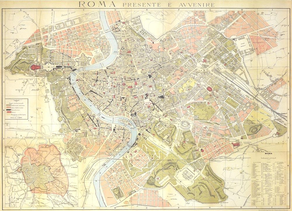 Affiche vintage  ROME ROME Dimensions : 50 x 70 cm