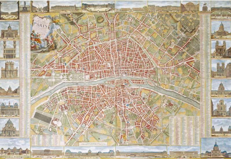 PLAN DE PARIS 1789