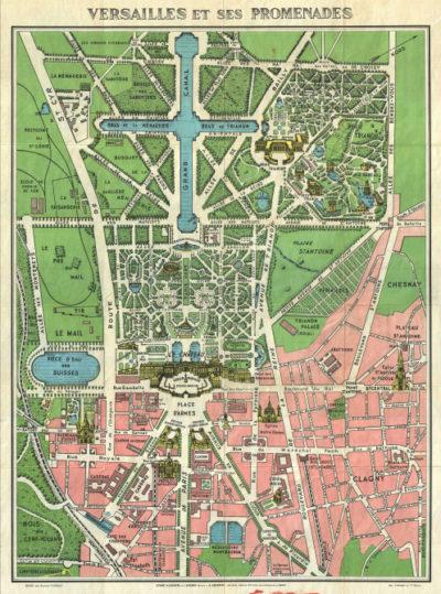 AFFICHE DE VERSAILLES PARIS