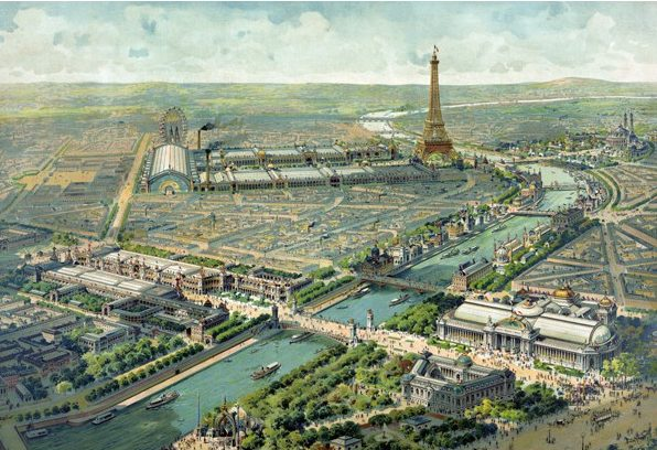 VUE PARIS 1900